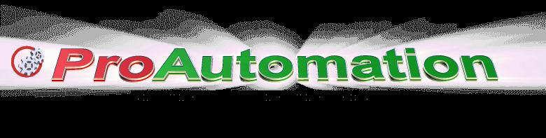 ProAutomation logo - programmi PLC, quadri elettrici, impianti elettrici e automazione macchinari