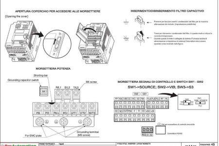 Progettazione schemi elettrici - Morsettiera inverter - ProAutomation Verona